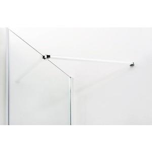 Душевая дверь Cezares Relax 90x185 прозрачная, белая (RELAX-90-C-Bi)