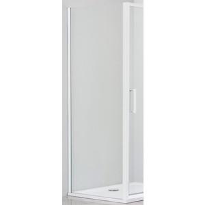 Боковая стенка Cezares Relax 80x185 Punto, белая (RELAX-80-FIX-P-Bi)