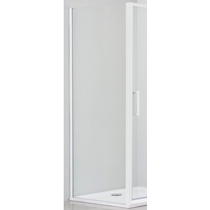 Боковая стенка Cezares Relax 80x185 прозрачная, белая (RELAX-80-FIX-C-Bi)
