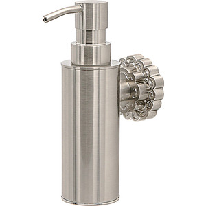 Дозатор для мыла Milacio Villena серебро (MC.908.SL)