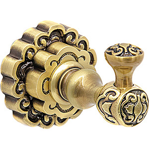 Крючок для полотенца Milacio Villena бронза (MC.901.BR)