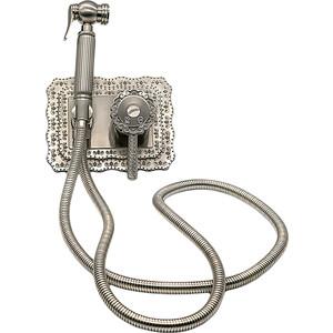 Смеситель для душа Milacio Vitoria серебро, с гигиеническим душем (MC.800.SL)