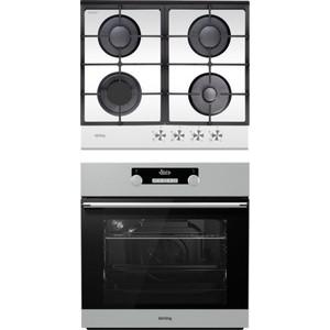 Встраиваемый комплект Korting HGG 660 CW + OKB 781 CEX цена