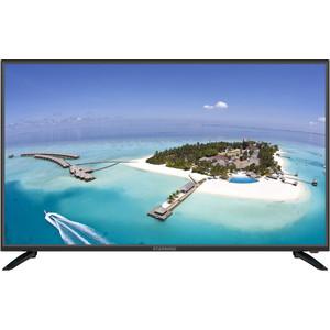 Фото - LED Телевизор StarWind SW-LED43UA400 выключатель werkel двухклавишный проходной с подсветкой шампань рифленый wl10 sw 2g 2w led золотой