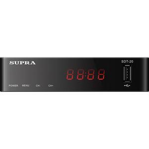 лучшая цена Тюнер DVB-T2 Supra SDT-20