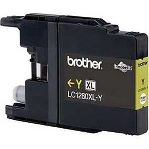 Картридж Brother LC1280XLY желтый картридж brother tn910y желтый