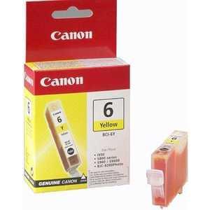 Картридж Canon BCI-6 yellow (4708A002) картридж canon bci 6 yellow 4708a002