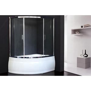 Шторка для ванной Royal Bath Alpine 150x150 прозрачная, хром (RB150ALP-T-CH)