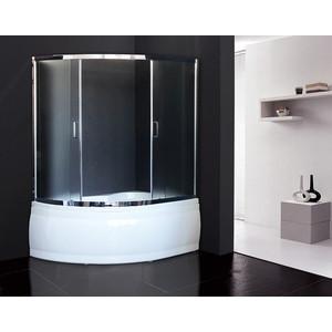 Шторка для ванной Royal Bath Alpine 150x150 матовая, хром (RB150ALP-C-CH)