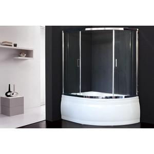 Шторка для ванной Royal Bath Alpine 150x170 прозрачная, хром (RB170ALP-T-CH) фото