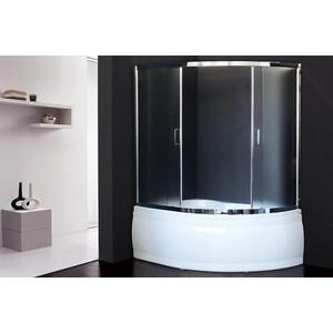 Шторка для ванной Royal Bath Alpine 150x170 матовая, хром (RB170ALP-C-CH)