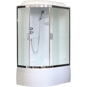 Душевая кабина Royal Bath BK 120x80x217 рифленое, правая (RB8120BK1-M-CH-R)
