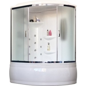 Душевая кабина Royal Bath ALP 150x100x225 рифленое, левая (RB150ALP-C-CH-L)