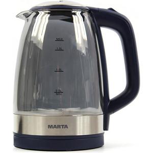 Чайник электрический Marta MT-1079 синий сапфир цена и фото