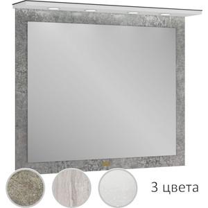 Зеркало Edelform Сириус 100 индустриальный бетон, с подсветкой (36493) фото