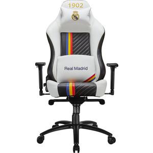 Кресло компьютерное игровое TESORO Real Madrid MB730-RM white
