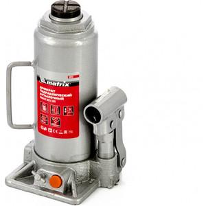 Домкрат гидравлический бутылочный Matrix 10т 230-460мм (50767)