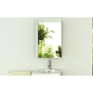 Зеркальный шкаф Comforty Диана 50 белый глянец, правый (3118242)