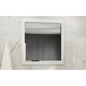 Зеркало Comforty Империя 78 белый глянец (4143507)