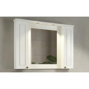 Зеркало-шкаф Comforty Палермо 114 белый глянец (4142365)