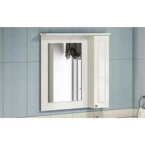 Зеркало-шкаф Comforty Палермо 79 белый глянец, правый (4139246)