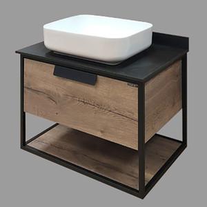 Мебель для ванной Comforty Кёльн 75 дуб темный