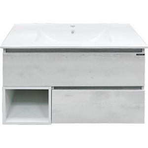 Мебель для ванной Comforty Турин 90 дуб белый