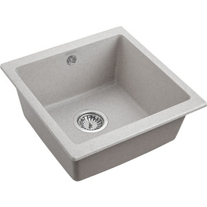 Кухонная мойка Paulmark Brilon серый (PM104546-GR)