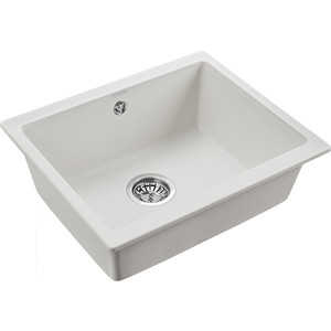 Кухонная мойка Paulmark Gera белый (PM205546-WH)
