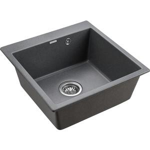 Кухонная мойка Paulmark Praktisch графит (PM105152-DG)