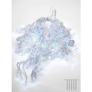 Светодиодный занавес Feron 230V 5000K холодный белый с мерцанием CL20 32337 цена