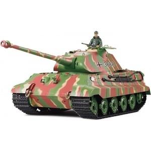Радиоуправляемый танк Heng Long German King Tiger масштаб 1:16 2.4G - 3888-1 V5.3 радиоуправляемый танк taigen german tiger 1 metal edition late version масштаб 1 16 2 4g