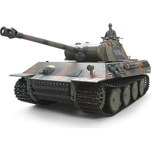 Радиоуправляемый танк Heng Long German Panther масштаб 1:16 2.4G - 3819-1Upg V6.0 henglong 3818 3818 1 german tiger i 3819 3819 1 german panther 1 16 rc tank upgrade parts metal track metal driving wheels