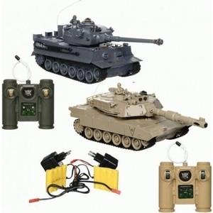 Радиоуправляемый танковый бой Zegan M1A2 vs Tiger масштаб 1:28 2,4G - 99827