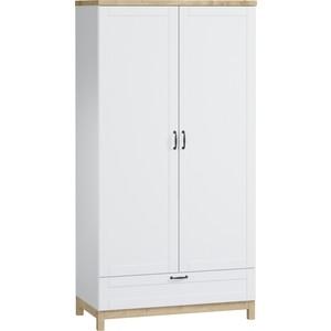 Шкаф распашной WOODCRAFT Равенна 2 двери + 1 ящик шкаф зодиак 2 распашные двери