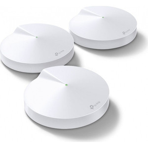 Mesh Wi-Fi система TP-LINK DECO M5 (3-PACK) mesh wi fi система tp link deco m9 plus 3 pack