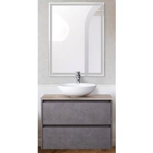 Мебель для ванной BelBagno Kraft со смесителем, Pietra Grigio (SET-KRAFT-700-PG-C-BB344-LOY-GRT-600/800)