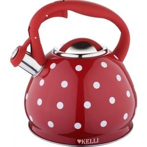 Чайник 3л Kelli KL-4316 красный