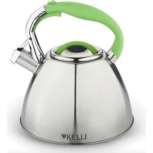 Чайник 3л Kelli KL-4336 зелен