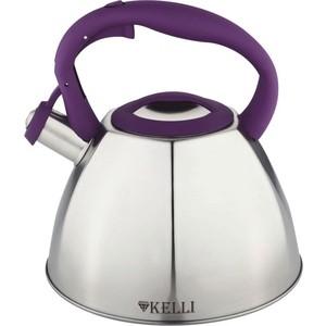 Чайник 3л Kelli KL-4337 фиолет