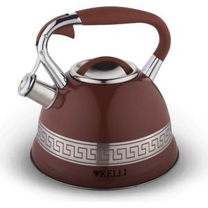 Чайник 3л Kelli KL-4506 шоколад