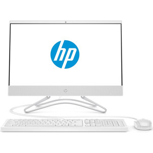 Моноблок HP 22-c0019ur white (Core i3 8130U/4Gb/1Tb/DVD-RW/MX110 2Gb/DOS) (4GS30EA)