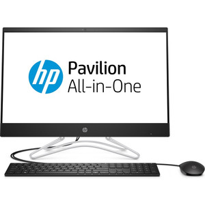 Моноблок HP 24-f0030ur black (Core i3 8130U/4Gb/1Tb/16Gb SSD/noDVD/VGA int/W10) (4GW89EA)