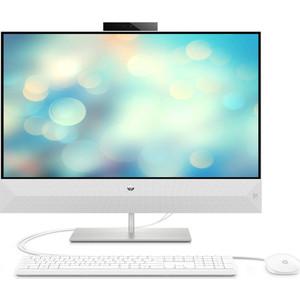 Моноблок HP 27-xa0095ur white (Core i3 9100T/8Gb/1Tb/noDVD/VGA int/DOS) (7JU27EA)  - купить со скидкой