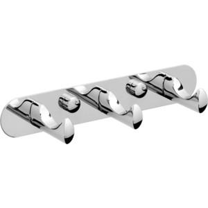Планка Raiber с 3 крючками, хром (R50118)