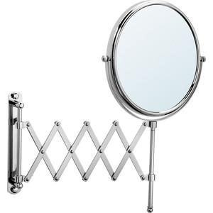 Зеркало косметическое Raiber настенное, выдвигающееся, хром (RMM-1120)