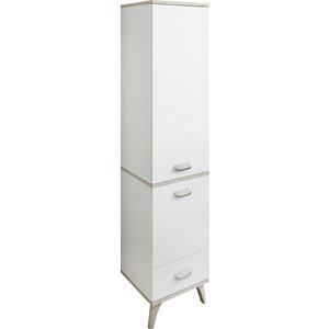 Шкаф-пенал Sanflor Бруно правосторонний, белый орегон (C02729)