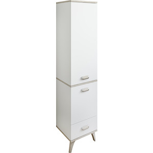 Шкаф-пенал Sanflor Бруно левосторонний, белый орегон (C03232)