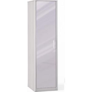 Шкаф 1 дверный с зеркалом Шатура Opera Шоколад FU3-01.DCL 484664 шкаф купе бостон вар 1 без зерк 1100 540 2150 бук шоколад шатура бостон
