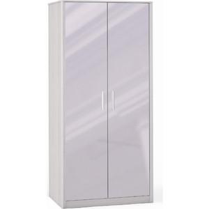 Шкаф 2 дверный с зеркалом Шатура Opera Шоколад FU3-01.DCL 484666